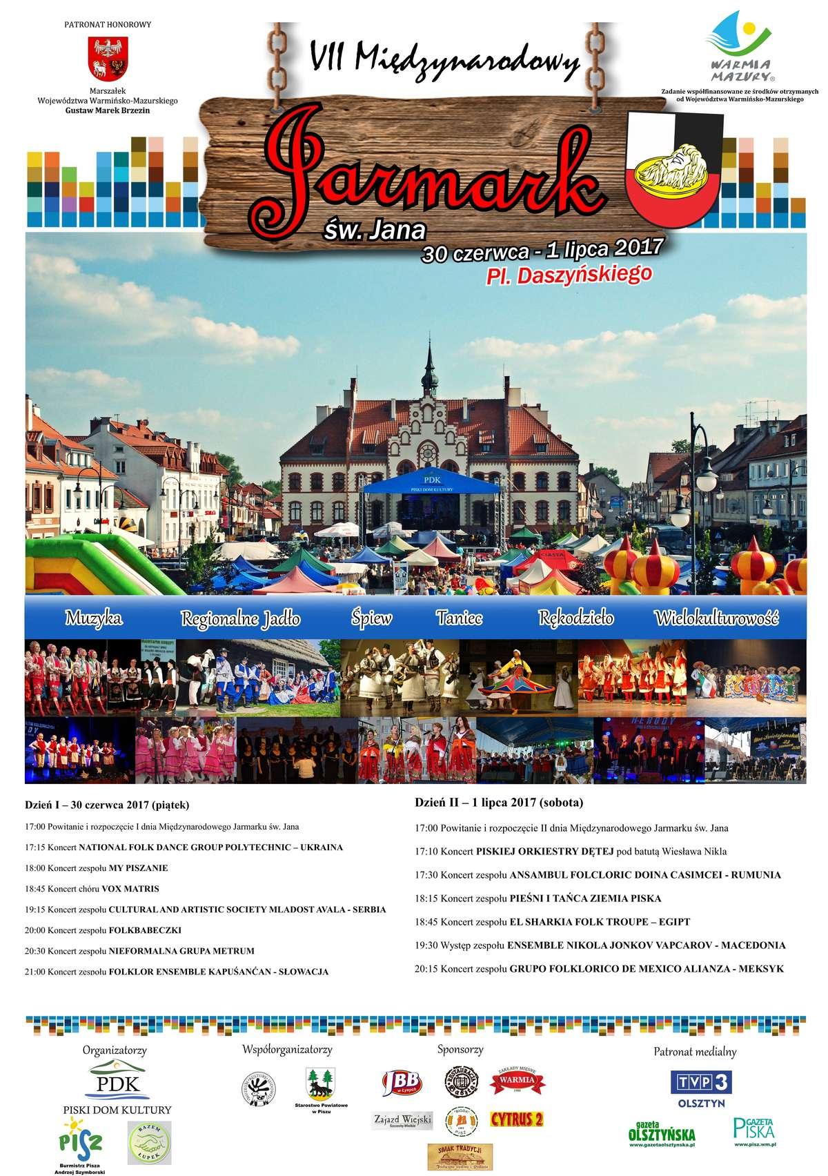 VII Międzynarodowy Jarmark św. Jana w Piszu - full image