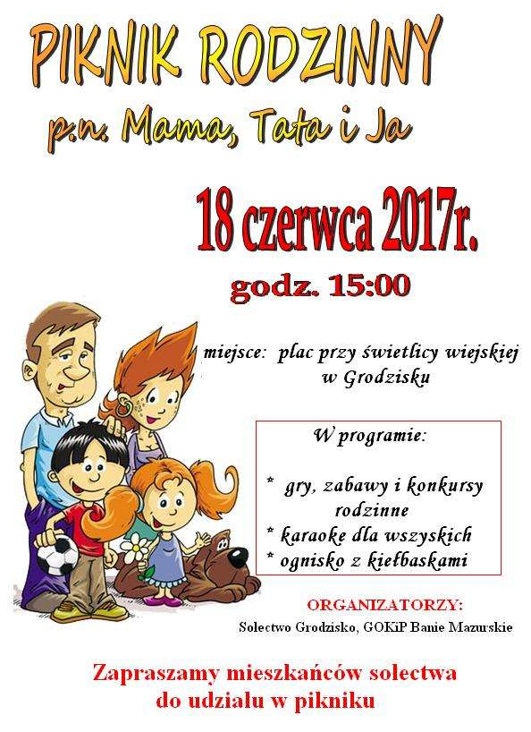 Rodzinny Piknik Mama, Tata i Ja w Grodzisku  - full image