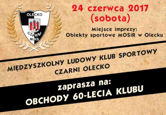 60- lecie MLKS Czarni Olecko - full image