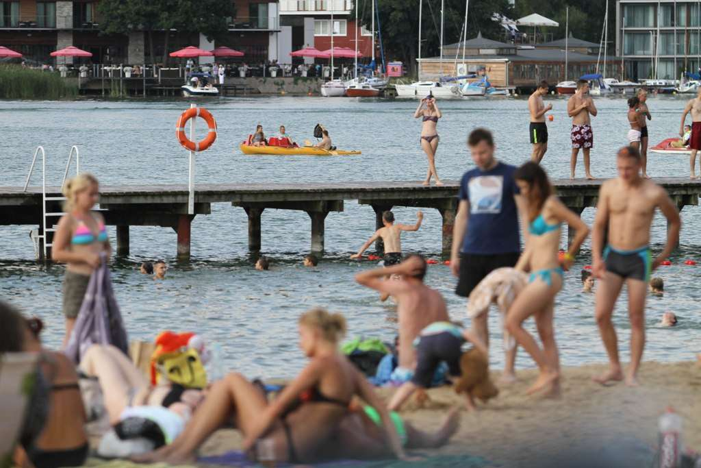 Kąpielisko miejskie w CRS Ukiel, lato 2016  - full image
