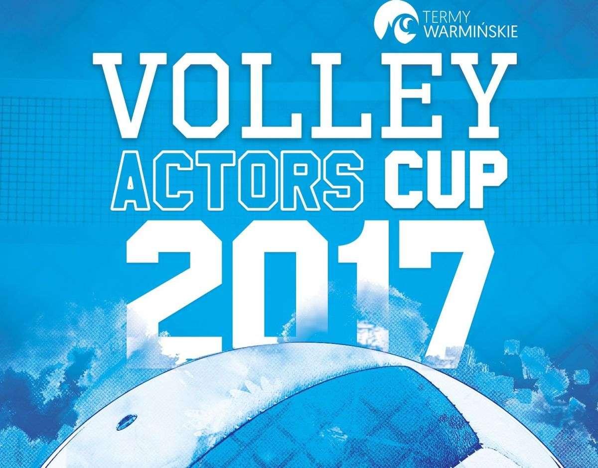 Volley Actors Cup 2017: znani aktorzy i aktorki zaprezentują swoje umiejętności siatkarskie - full image