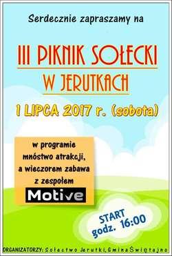 III Piknik Sołecki w Jerutkach