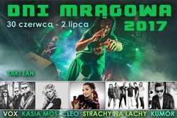 Dni Mrągowa plakat 2017
