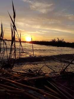 Zdjęcie Tygodnia. Zachód słońca nad jeziorem Kinkajmy