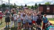 Uczniowie ze Zwiniarza na sportowej imprezie w Olsztynie