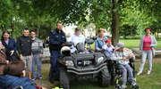Akademia Policyjna - Festyn w Specjalnym Ośrodku Szkolno-Wychowawczym