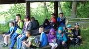 Uczniowie SOSW w rezerwacie przyrody Jezioro Siedmiu Wysp