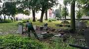 Wspólne porządkowanie cmentarza [zdjęcia, film]