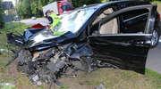 Wypadek na DK16. Zderzyły się cztery samochody, 5 osób rannych [ZDJĘCIA]