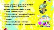 Lato z biblioteką w Olecku