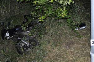 Tragedia na drodze. Nie żyje 19-letni motocyklista
