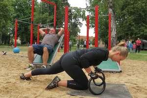Oficjalnie otwarto siłownię plenerową w Lidzbarku Warmińskim
