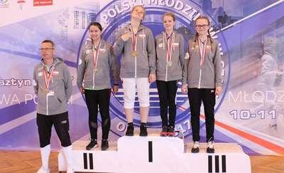 Złoty medal dziewczyn Hajduczka