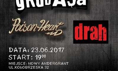 Łydka Grubasa, Poison Heart i Drah zagrają w Nowym Andergrandzie