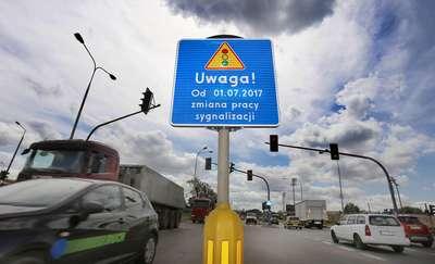 Duże zmiany na skrzyżowaniach w Olsztynie. Pierwsze już w weekend