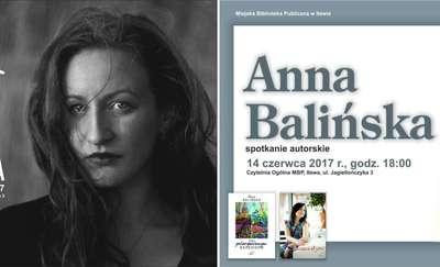 Spotkanie  z dwiema kobietami z pasją - fotografką Emilią Bartkowską i pisarką Anną Balińską
