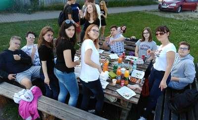 Grill & Fun Samorządu Uczniowskiego w Wilkasach