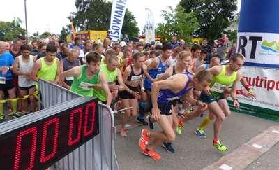 W Olsztynku biegacze pokonali piątkę!