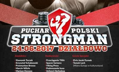 Puchar Polski Strongmanów w Działdowie