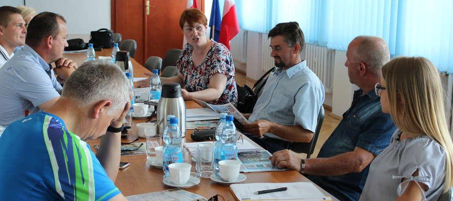 Joanna Rakoczy podczas posiedzenia komisji tłumaczyła, że komitet odpowiadał za piątkowe obchody 250-lecia nadania praw miejskich