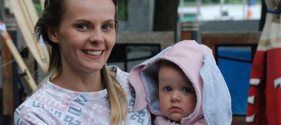 Laura Królik z mamą Joasią