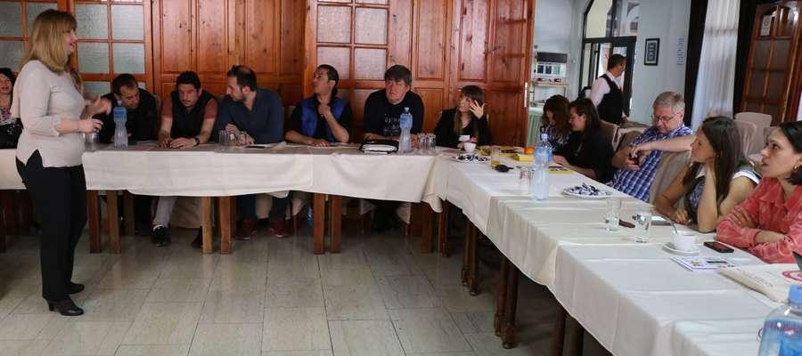 Delegacja nauczycieli PCE w ramach programu ERASMUS+ była w maju w Macedonii.