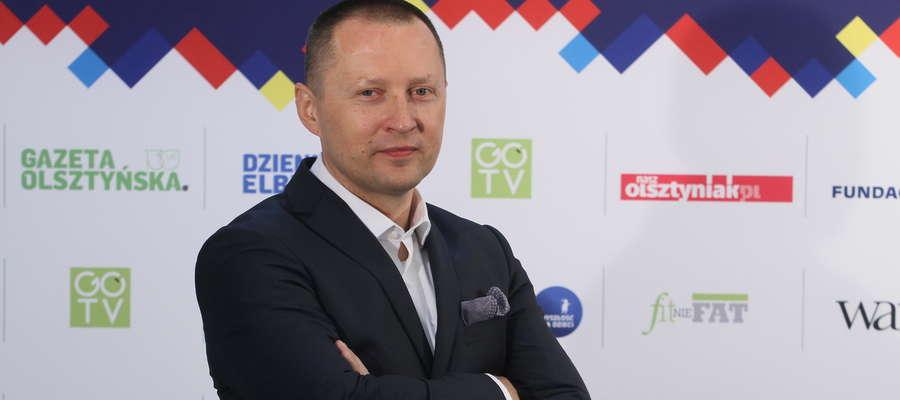 Jarosław Tokarczyk, prezes Grupy WM: — Tu, na Warmii i Mazurach, jest wiele osób o wielkich sercach