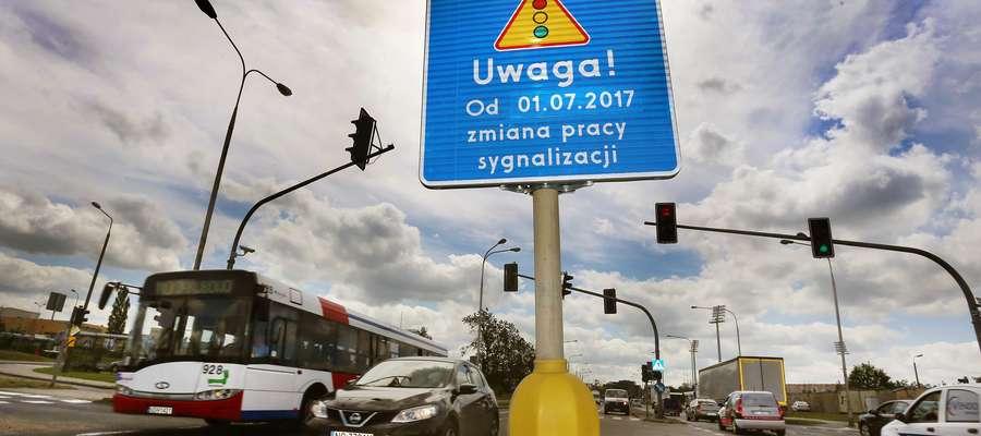 Kolejne strzałki znikają ze skrzyżowań w Olsztynie. Jeździ się szybciej, ale czy bezpieczniej?