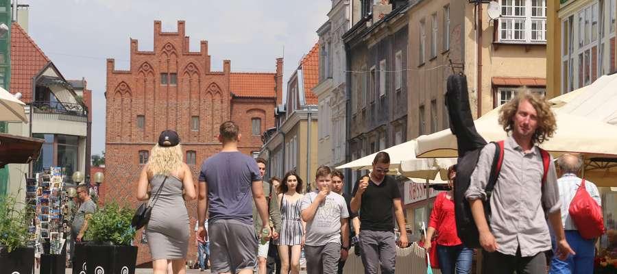 Stare Miasto  Olsztyn - Stare Miasto ulica Prosta.