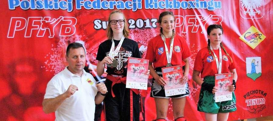 Zawodnicy Gladiusa Ostróda  31 razy stawali na podium w Suszu