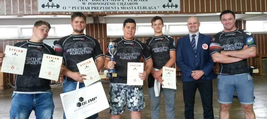 Kurzętniccy zawodnicy i trenerzy w Elblągu