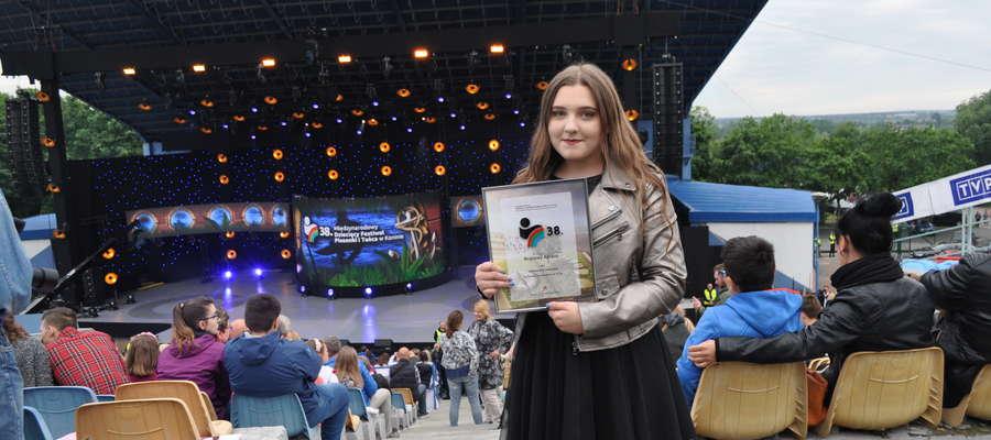 Ola Lewicka wyśpiewała w Koninie Brązowy Aplauz