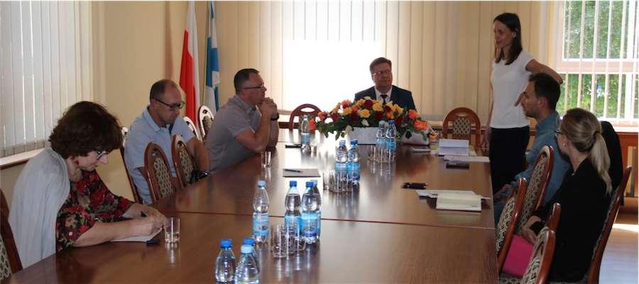 Spotkanie w sprawie utworzenia SSE w gminie Giżycko