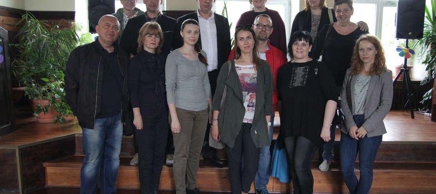 Pamiątkowe zdjęcie uczestników wyjazdu