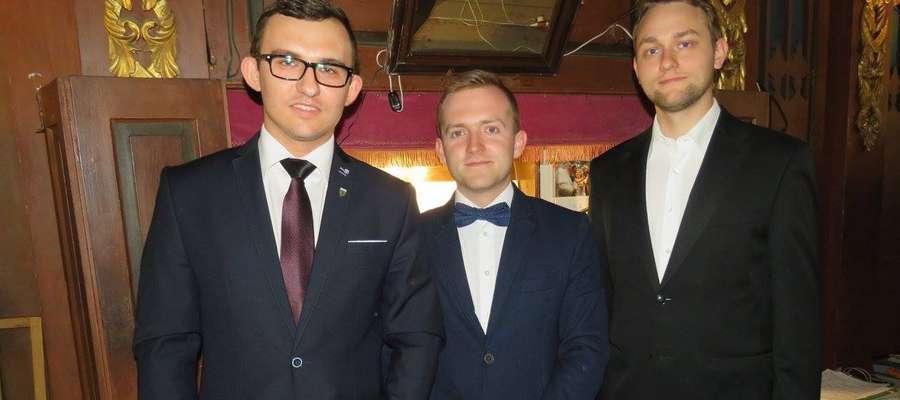 Karol Światłowski (z lewej) jest pomysłodawcą i organizatorem cyklu koncertów.