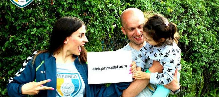 Zapraszamy wszystkich chętnych do zabawy i włączenie się w zbiórkę publiczną na rzecz Laury