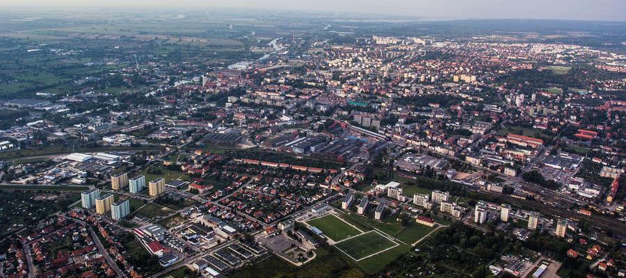 Elbląg / panorama miasta