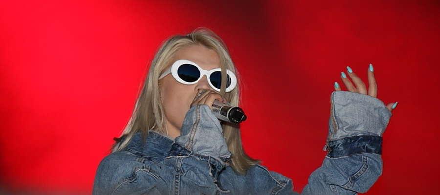 Margaret na koncercie w Giżycku