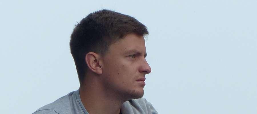 Łukasz Suchocki często odwiedza iławski stadion. Tu akurat podczas Memoriału Gaca i Łobockiego w 2015 roku
