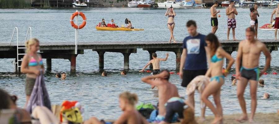 Kąpielisko miejskie w CRS Ukiel, lato 2016