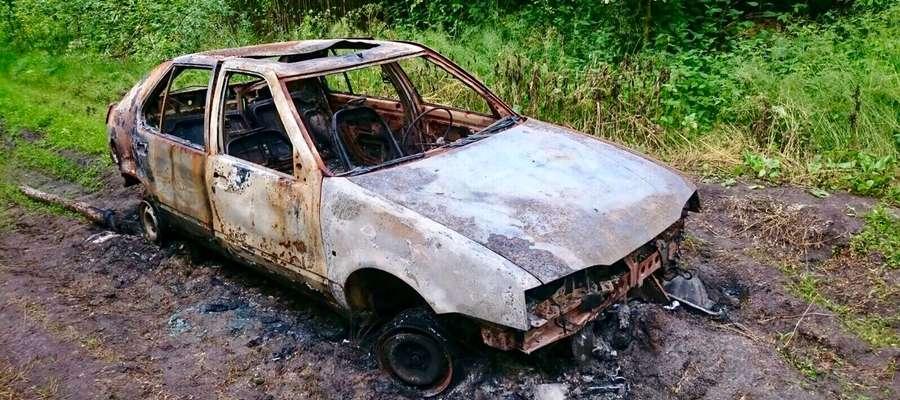 19 i 21- latek ukradli samochód i spalili go w lesie. Usłyszeli zarzuty