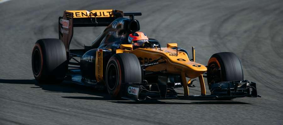 Kubica na jeden dzień powrócił do F1
