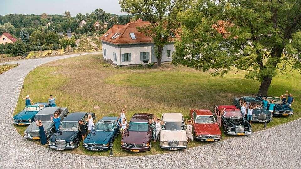 II Zlot Miłośniczek Zabytkowych Mercedesów - full image