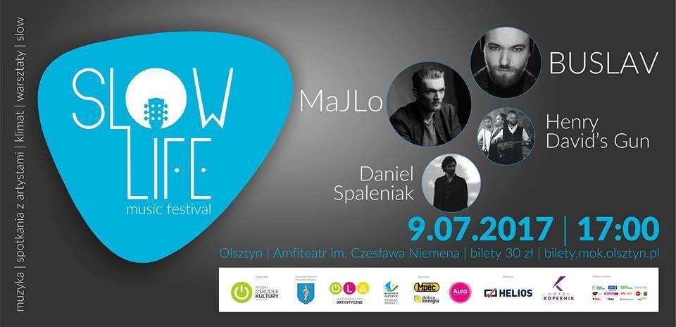 Slow Life Music Festival 2017 w olsztyńskim amfiteatrze - full image