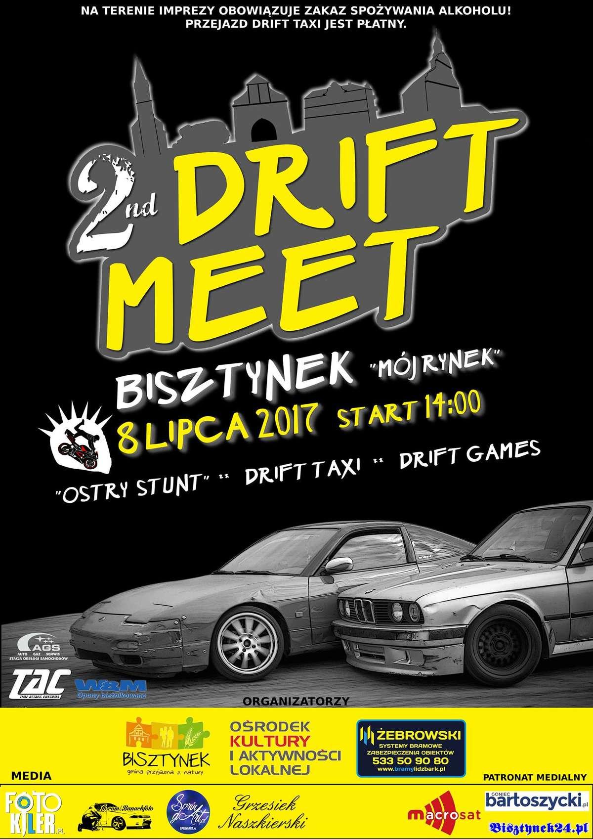 Drugi Drift Meet w Bisztynku - full image