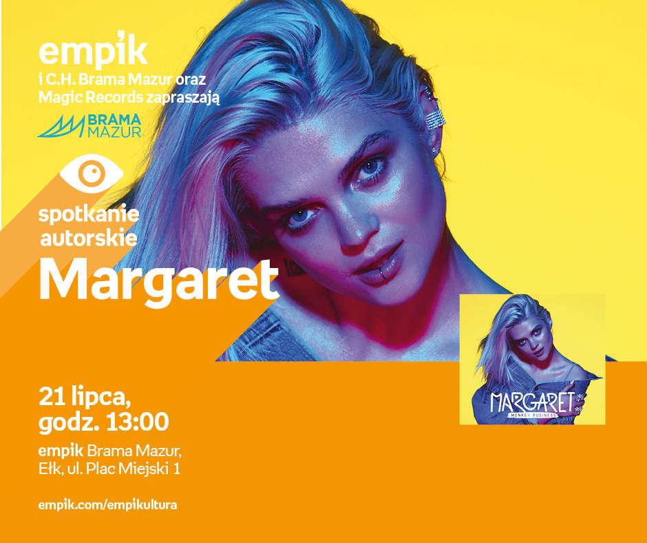 Spotkanie z Margaret w Ełku - full image