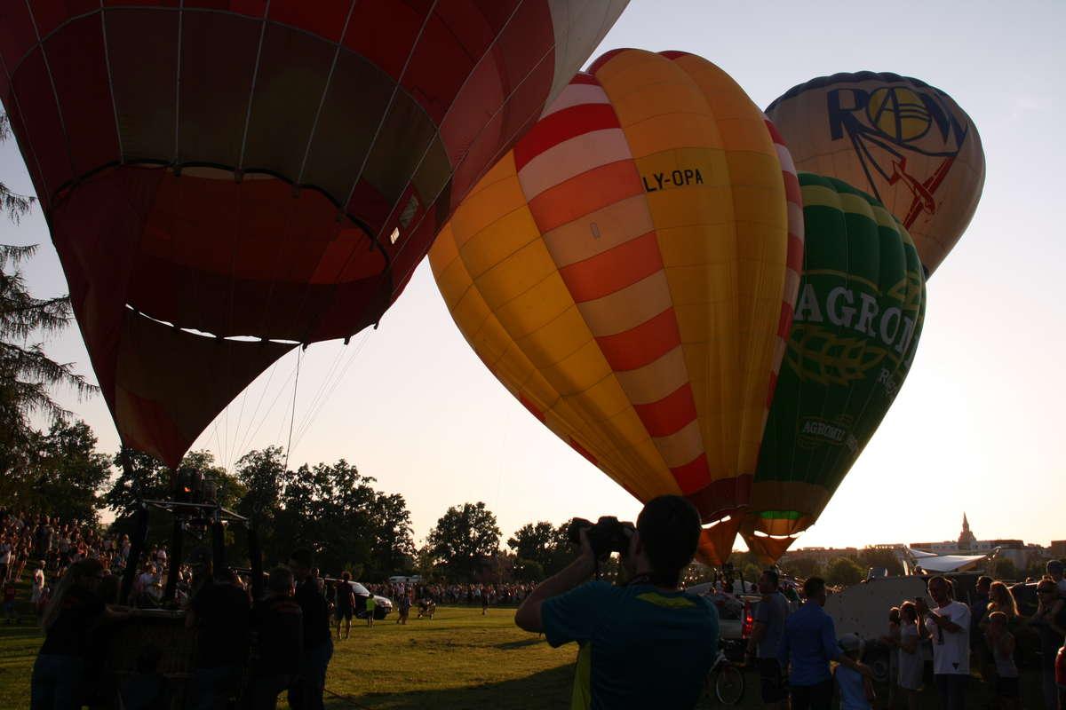 Balony pokolorowały ełckie niebo! Zobacz zdjęcia i filmy - full image