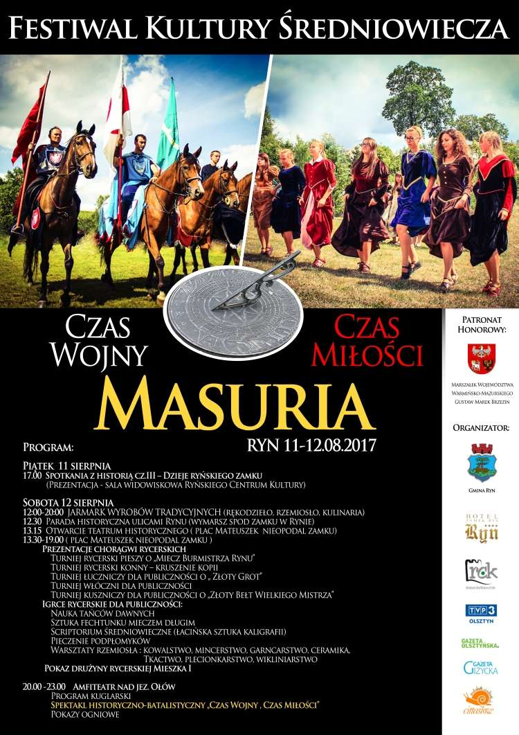 Festiwal Kultury Średniowiecza 11-12 sierpnia  - full image