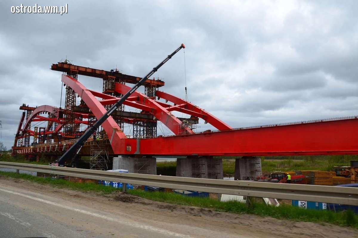 Budowa mostu w ciągu obwodnicy Ostródy na DK7