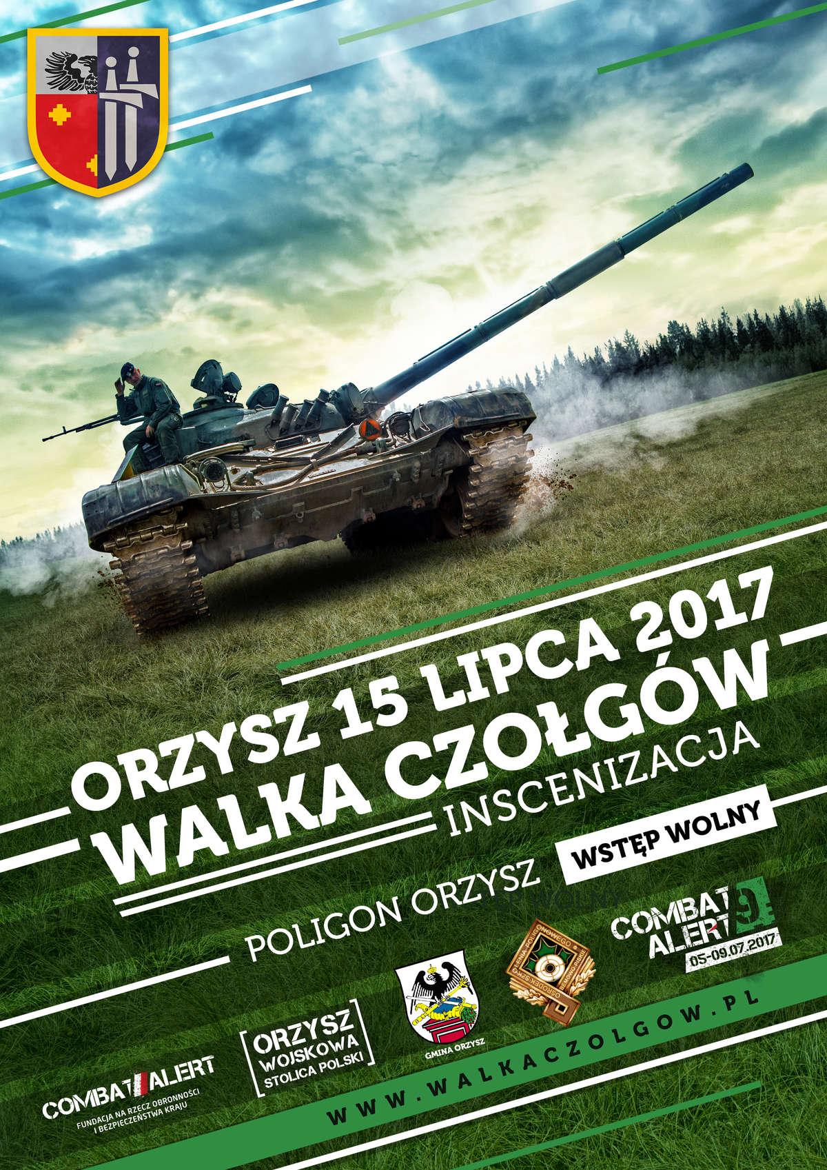 Walka Czołgów, czyli piknik militarny  w Orzyszu - full image